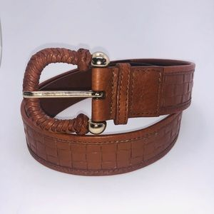 Burberry Leather Belt Size 32. Exc. Cond.
